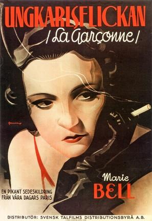 La garçonne - Swedish Movie Poster (thumbnail)