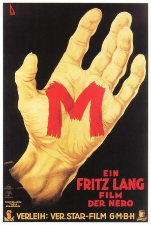 M - German Movie Poster (thumbnail)