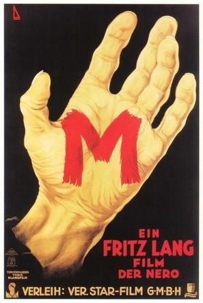 M - German Movie Poster (thumbnail)