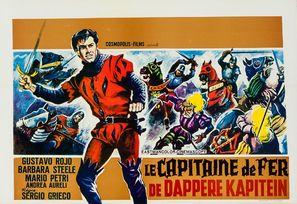 Il capitano di ferro - Belgian Movie Poster (thumbnail)