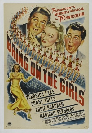 Bring on the Girls - Movie Poster (thumbnail)