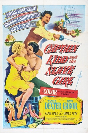 Captain Kidd and the Slave Girl - Movie Poster (thumbnail)