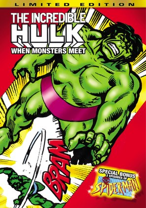 """The Incredible Hulk"" - DVD movie cover (thumbnail)"