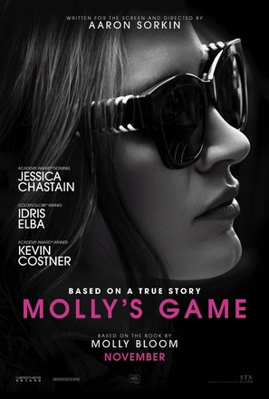 Molly's Game - Movie Poster (thumbnail)