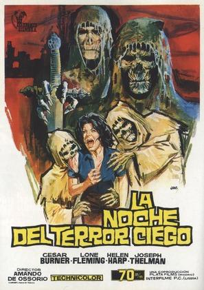 La noche del terror ciego - Spanish Movie Poster (thumbnail)
