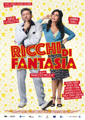 Ricchi di fantasia - Italian Movie Poster (thumbnail)