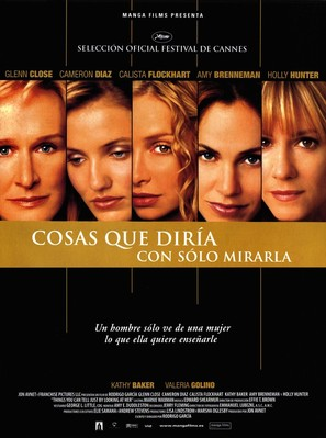 Things You Can Tell Just By Looking At Her - Spanish Movie Poster (thumbnail)
