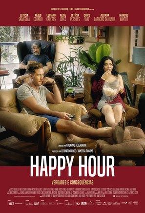 Happy Hour - Brazilian Movie Poster (thumbnail)