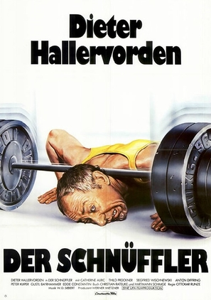 Der Schnüffler - German Movie Poster (thumbnail)