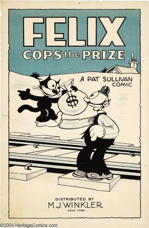 Felix Cops the Prize - Movie Poster (thumbnail)