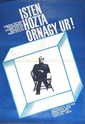 Isten hozta örnagy úr - Hungarian Movie Poster (thumbnail)