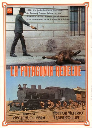 La Patagonia rebelde - Argentinian Movie Poster (thumbnail)