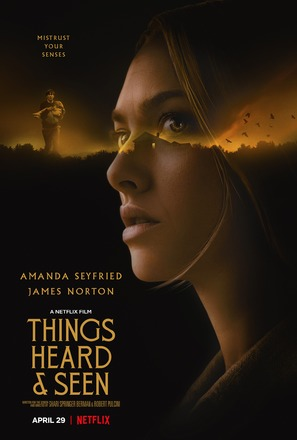 Things Heard & Seen - Movie Poster (thumbnail)