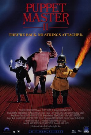 Puppet Master II - Video release movie poster (thumbnail)