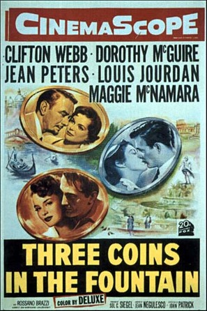 Three Coins in the Fountain - Movie Poster (thumbnail)