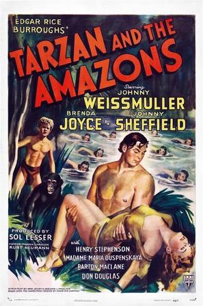Tarzan and the Amazons - Movie Poster (thumbnail)