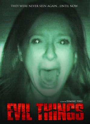 Evil Things - DVD movie cover (thumbnail)