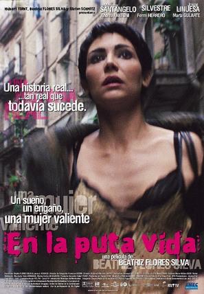 En la puta vida - Uruguayan Movie Poster (thumbnail)