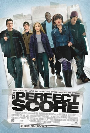 The Perfect Score - Movie Poster (thumbnail)