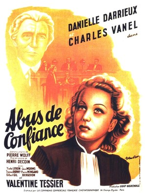 Abus de confiance - French Movie Poster (thumbnail)