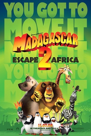Madagascar: Escape 2 Africa - Movie Poster (thumbnail)