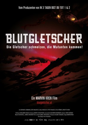 Blutgletscher - Austrian Movie Poster (thumbnail)