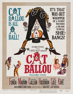 Cat Ballou - Movie Poster (thumbnail)