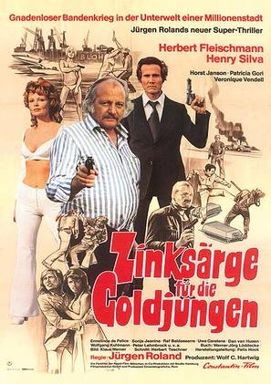 Zinksärge für die Goldjungen - German Movie Poster (thumbnail)