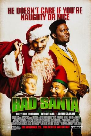 Bad Santa - Movie Poster (thumbnail)