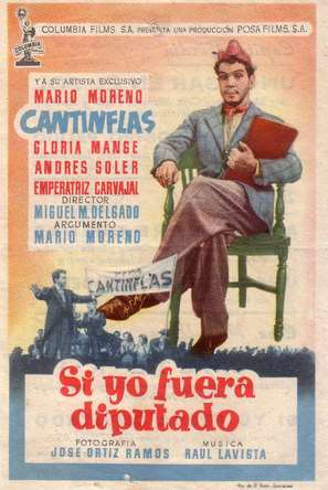 Si yo fuera diputado - Spanish Movie Poster (thumbnail)