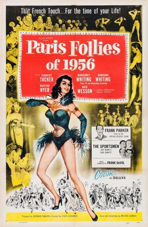 Paris Follies of 1956 - Movie Poster (thumbnail)