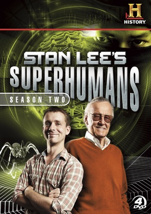 """Stan Lee's Superhumans"" - DVD movie cover (thumbnail)"