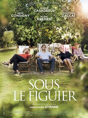 Sous le figuier - French Movie Poster (thumbnail)