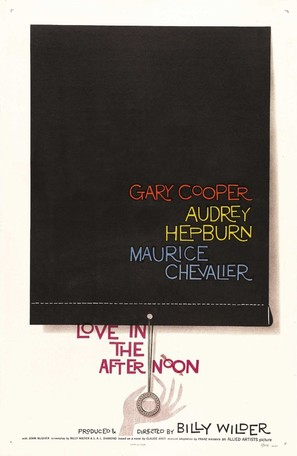 Love in the Afternoon - Movie Poster (thumbnail)