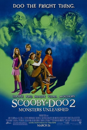 Scooby Doo 2: Monsters Unleashed - Advance movie poster (thumbnail)