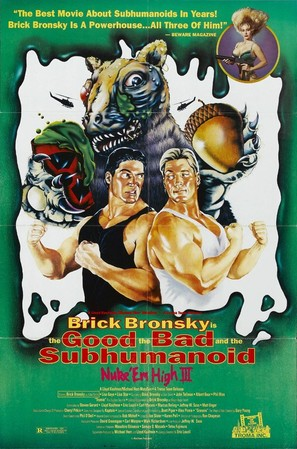 Class of Nuke 'Em High 3: The Good, the Bad and the Subhumanoid - Movie Poster (thumbnail)