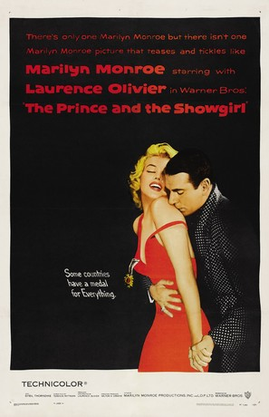 The Prince and the Showgirl - Movie Poster (thumbnail)