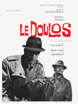 Le doulos - French Movie Poster (thumbnail)