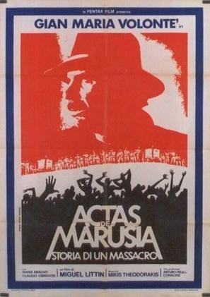 Actas de Marusia - Mexican Movie Poster (thumbnail)