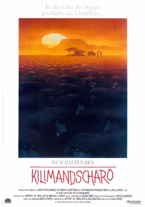 In the Shadow of Kilimanjaro - German Movie Poster (thumbnail)