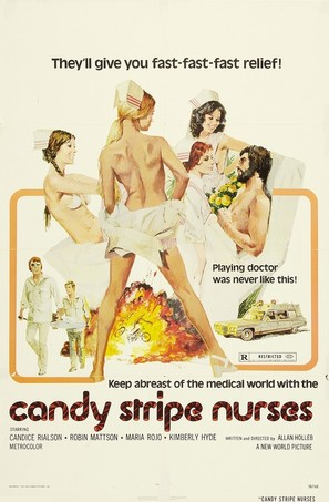 Candy Stripe Nurses - Movie Poster (thumbnail)