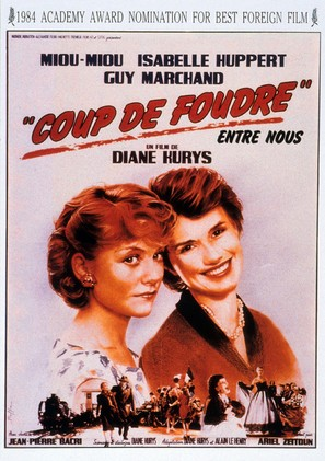 Coup de foudre - French Movie Poster (thumbnail)