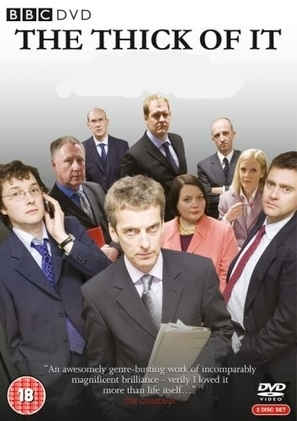 """The Thick of It"" - British DVD movie cover (thumbnail)"