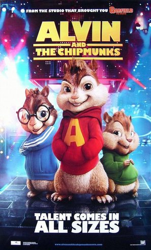 Alvin and the Chipmunks - Movie Poster (thumbnail)