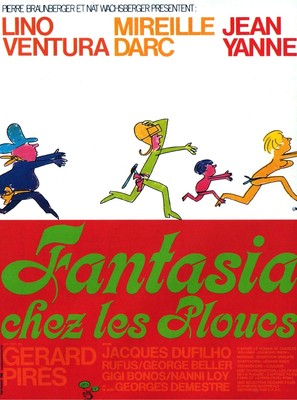 Fantasia chez les ploucs - French Movie Poster (thumbnail)