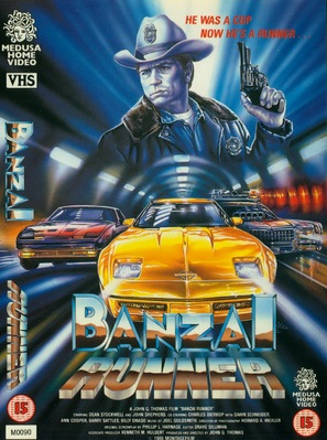 Banzai Runner - British Movie Cover (thumbnail)