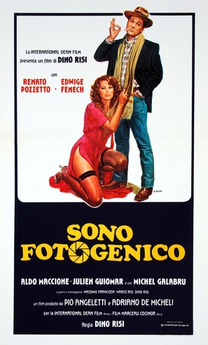 Sono fotogenico - Italian Movie Poster (thumbnail)