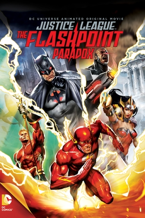 Justice League: The Flashpoint Paradox - DVD cover (thumbnail)