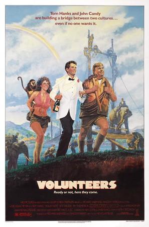Volunteers - Movie Poster (thumbnail)