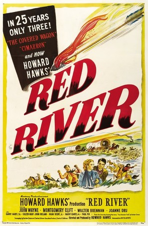 Red River - Movie Poster (thumbnail)